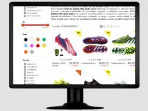 Egyedi webáruház